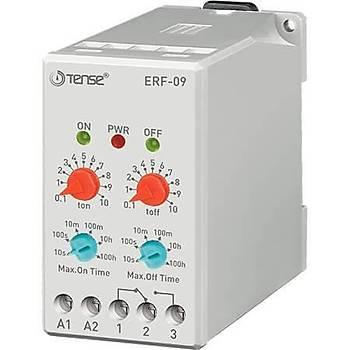 ERF-09 100 Saate Kadar Ayarlanabilir Flaşör Zaman Rölesi TENSE