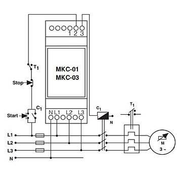 MKC-03 Faz Sıralı Motor (Faz) Koruma Rölesi ENTES