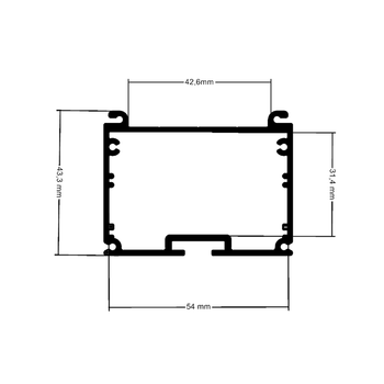 BLB-LNE-ECO-50150075 LİNEER AYDINLATMA -1500mm 75W 5000K