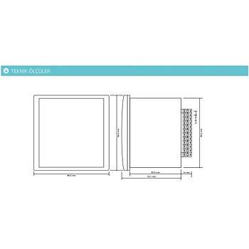 TPM-03 Şebeke Enerji Analizörü (Röle Çıkışlı, RS-485 Haberleşme) TENSE