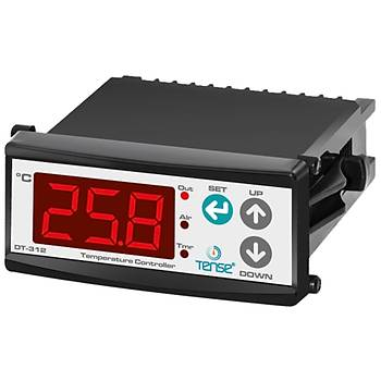 DT-312 PTC 36x72mm Dijital Isı Kontrol Cihazı (Prob Hariç) TENSE