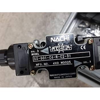 NACHI-SS-G01-C6-R-D3-20 SOLENOID OPERATE