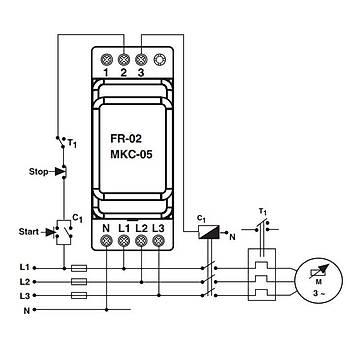 MKC-05 Faz Sıralı Ayarlanabilir Asimetrili Motor (Faz) Koruma Rölesi ENTES