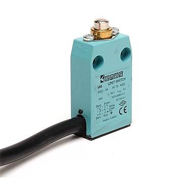 L61K13PUM211 Metal Pimli IP67 Limit Siviç EMAS
