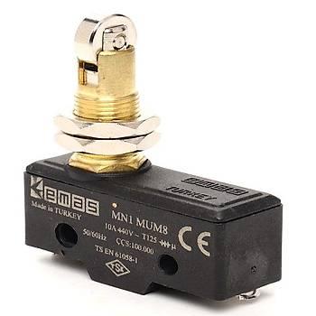 MN1MUM8 Metal Makaralı (Eksene Dik) Pimli Asal Siviç EMAS