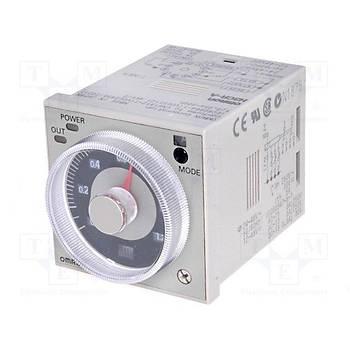 H3CR-A 24-48VAC/12-48VDC 11 Pinli Fonksiyonel Analog Zaman Rölesi OMRON