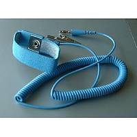 Kablolu Antistatik Topraklama Bilekliği Mavi-Mavi