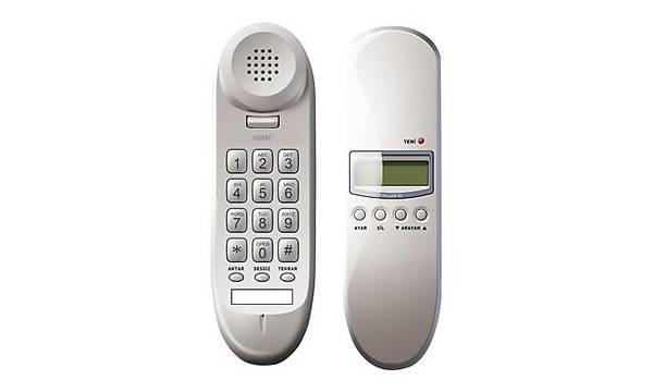 Karel TM910 Ekranlý Duvar Tipi Telefon