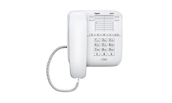 Gigaset  Da 310 Kablolu Masaüstü Telefon Beyaz