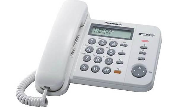 PANASONÝC TS580 MASA TELEFONU BEYAZ