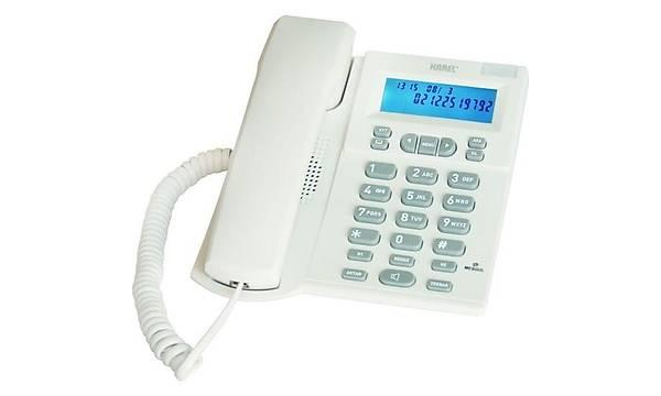 KAREL TM131 ARAYAN NUMARAYI GÖSTEREN TELEFON