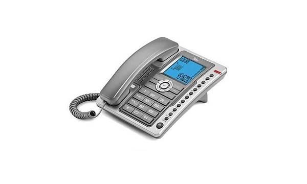 TTEC PLUS TK6101 MASAÜSTÜ TELEFON GÜMÜÞ