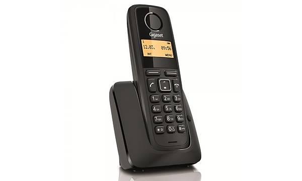 Gigaset A120 Dect Telsiz Telefon SÝYAH