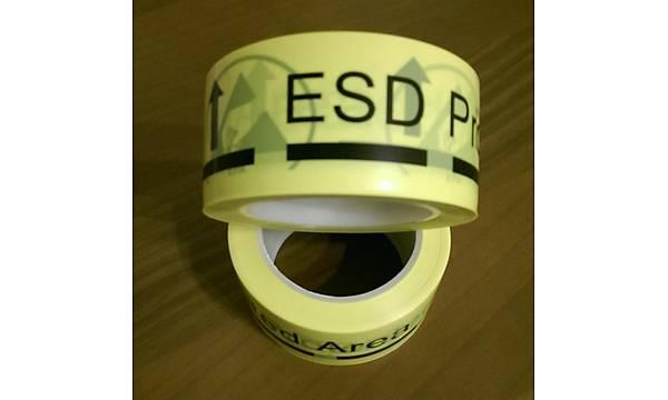 Antistatik (ESD) Zemin Uyarý Bandý 50mmx33m