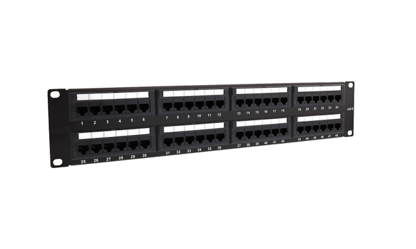 48 PORT MODÜLER DOLU CAT6 PATCH PANEL