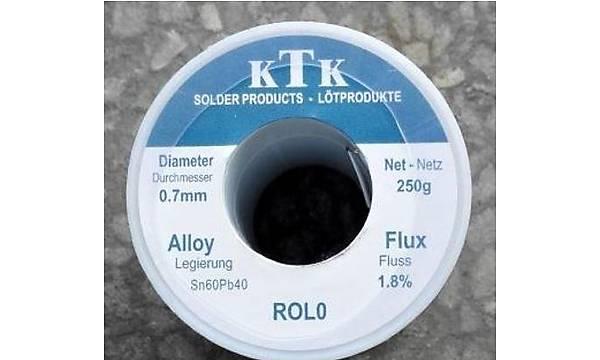 Lehim Teli 250g 60/40 0.7mm ROL0 %1.8 No-Clean