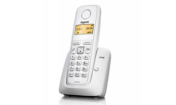 Gigaset A120 Dect Telsiz Telefon BEYAZ