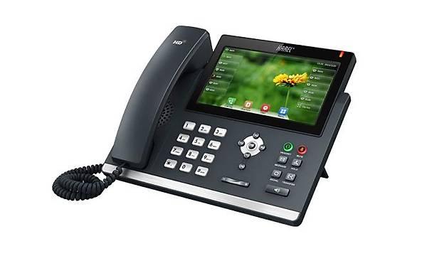 Karel IP138 IP Telefon Dokunmatik ekran