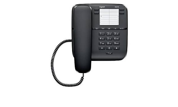 Gigaset  Da 310 Kablolu Masaüstü Telefon Siyah