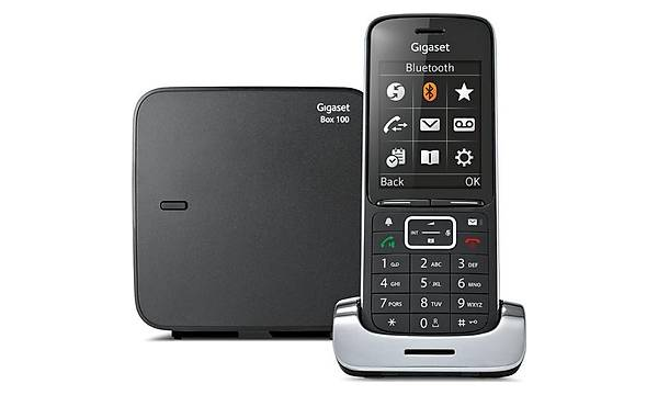 Gigaset SL450 Black Edition Dect Telefon