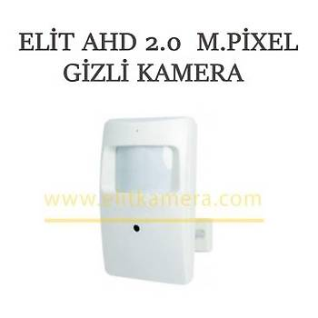 Elit 1198 Ahd 2.0 M.Pixel Alarm Pýr Görünümlü  Gizli Kamera