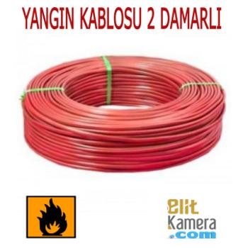 Yangýn Alarm Kablosu 2 Damarlý ( 100 metre )