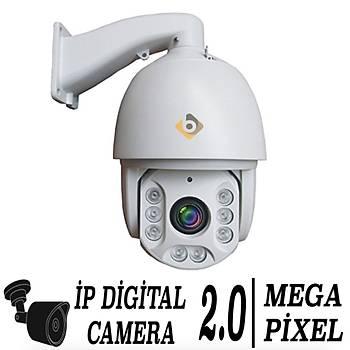 Elitcam 7012 2.0 Megapixel ÝP Speeddome Kamera 36X Zoom