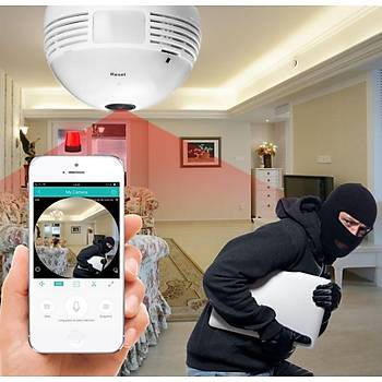 Elit Ampül 360 Derece Kamera