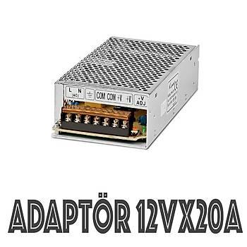 Adaptör 12 Volt 20 Amper