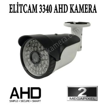Elitcam 3340 - 2.0 Megapixel Ahd Bullet Kamera ( Metal Kasa )