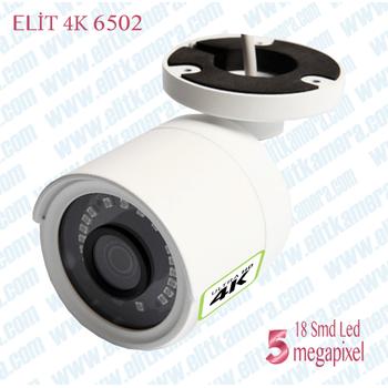 Elit Pro Hd 6502 4K 5.0 Megapixel Ýp Poe Kamera