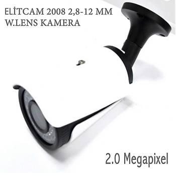 Elitcam 2008  2.0 Megapixel 2.8 - 12 MM Ahd Kamera W.Lens