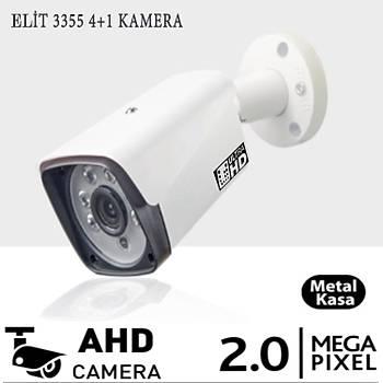 Elit Hd 3355  Ahd Kamera 2.0 M.Pixel Metal Kasa