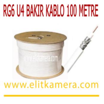 RG6 U6 Bakýr Kablo ( 100 MTR. )