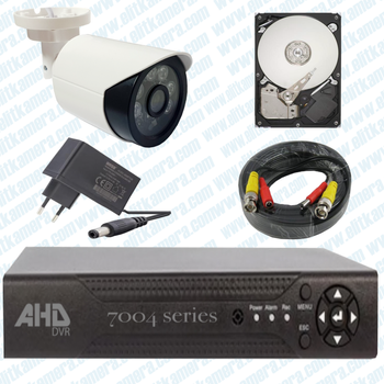 Elitcam Ahd Süper 1 Kameralý Set 1080p Full Hd