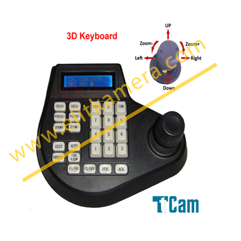 Elit 1141 Ahd ve Analog Speedome Kamera Kontrol Klavyesi