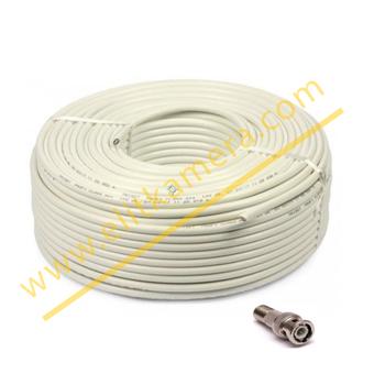 Cctv Kablo 2+1 0.50 mm 100 Metre Kaliteli