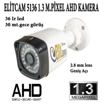 Elitcam 5136 1.3 Megapixel Ahd Kamera ( H.262 )