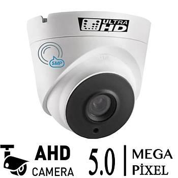 Elitcam Hd-3007  5.0  Megapixel Ahd Dome Kamera