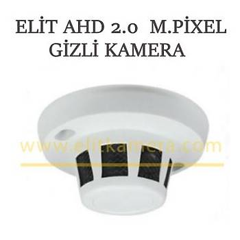 Elit 1200 Ahd 2.0 M.Pixel Duman Dedektörlü  Gizli Kamera