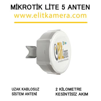 Mikrotik Lite5  2 Km. Kesintisiz Anten
