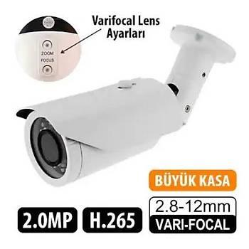Elitcam 2009  2.0 Megapixel 2.8 - 12 Mm Ahd Kamera W.Lens