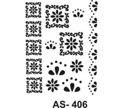 En Ucuz Cadence As 406 A4 Stencil Kolay Boyama şablonu Nevzatcam
