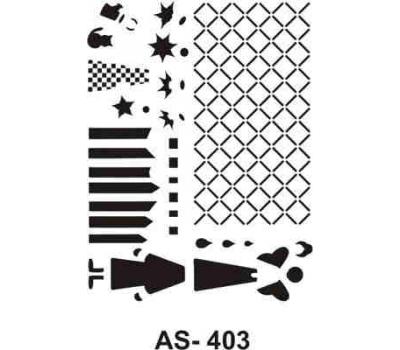 En Ucuz Cadence As 403 A4 Stencil Kolay Boyama şablonu Nevzatcam