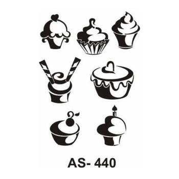 Cadence AS -440 A4 Stencil (Kolay Boyama Þablonu )