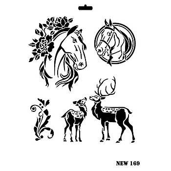 Rich New 169 Stencil (Kolay Boyama Þablonu )