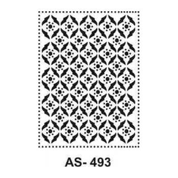 Cadence AS -493 A4 Stencil (Kolay Boyama Þablonu )