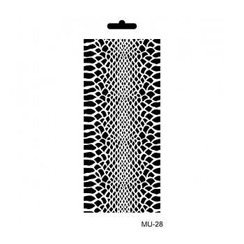Cadence MU -28 Mix Media  Stencil (Kolay Boyama Þablonu )