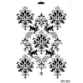 Rich -DN 925 Dantel Stencil (Kolay Boyama Þablonu )