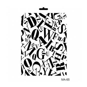 Cadence MA -65 Mix Media  Stencil (Kolay Boyama Þablonu )